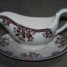 WILLIAMS SONOMA Home SPODE Manor Gravy Boat New