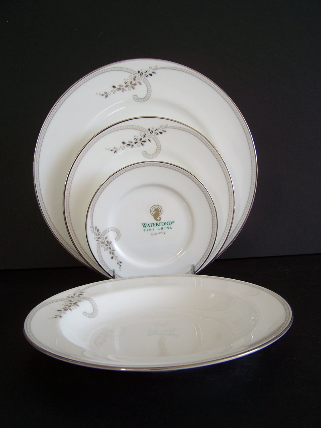 WATERFORD China Ballet Jewel 4 Piece Setting for 4 New