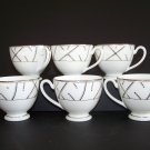 WATERFORD Fine China Merrill Tea Cups Set/6 New