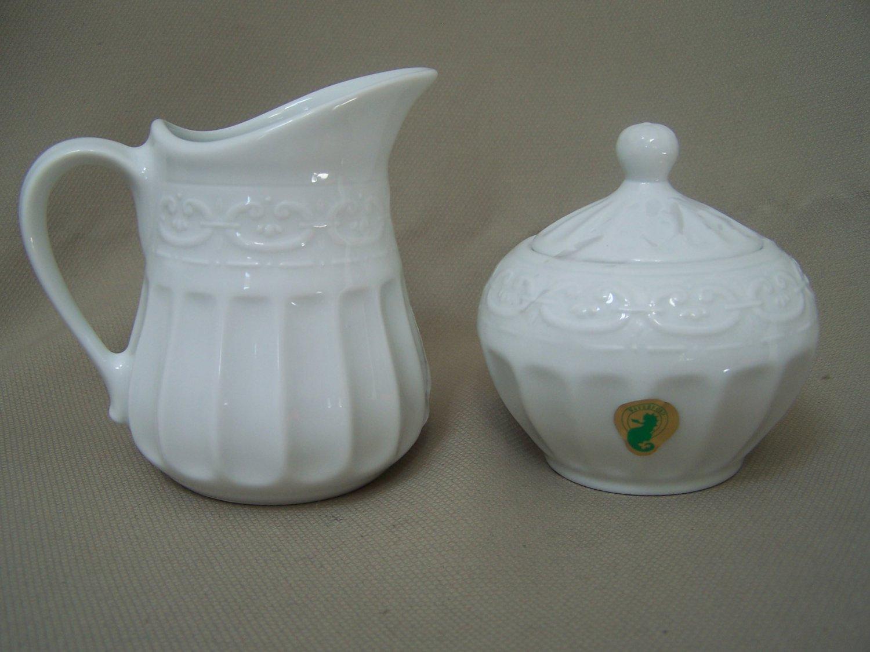 WATERFORD Grafton Street Sugar Bowl & Creamer Set NIB