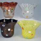 MURANO Art Glass Handkerchief Vase Assorted Gambaro & Poggi New