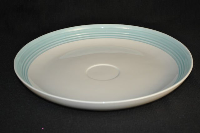 LENOX Tin Can Alley White Chip & Dip Round Platter Only New