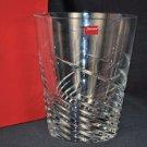 BACCARAT Clear Crystal Intangible Spin Vase France NIB