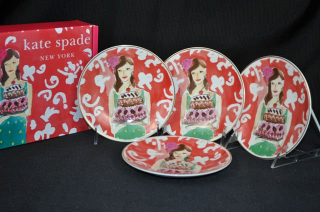 Kate Spade Just Desserts Cake Stand