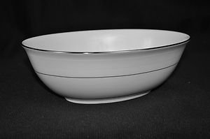 RALPH LAUREN China Normandy Oval Open Vegetable Bowl New