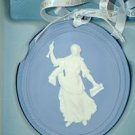 WEDGWOOD Blue Jasper Annual Wedgwood Muse 2011 Christmas Ornament NIB