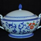 RALPH LAUREN China Mandarin Blue Casserole Tureen New