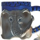BLUE SKY Clayworks Elephant Sophia Mugs Set/4  New