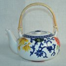 RALPH LAUREN China Mandarin Blue Tea Pot New