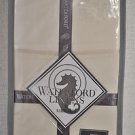 WATERFORD Calista King Pillowcases Set/2 Ivory 300 Thread Count 100% Cotton New