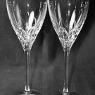 LENOX Kate Spade Willow Glen Avenue Goblets Glasses Set/2 Crystal  New