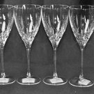 LENOX Kate Spade Willow Glen Avenue Goblets Glasses Set/4 Crystal  New