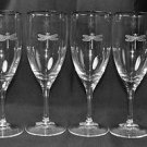 LENOX Kate Spade June Lane Iced Beverage Glasses Set/4 Crystal  New