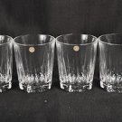 RALPH LAUREN Crystal WentWorth DOF Glasses Set/4 NIB