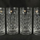 RALPH LAUREN Crystal Aston Hi Ball Glasses Set/4 NIB