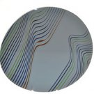 DIANE VON FURSTENBERG Home Streamline Large Round Serving Platter New