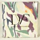 DIANE VON FURSTENBERG DVF Home Giant Brush Marks Full/Queen Duvet Cover New