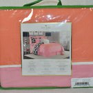 KATE SPADE Spring Street King Duvet Cover Orange Blossom  New