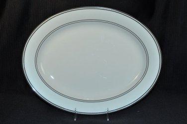 RALPH LAUREN China Spectator Oval Serving Platter New