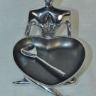 INSPIRED GENERATIONS Lady Love Heart Bowl With Heart Spoon NIB
