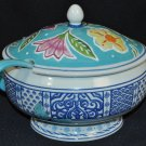 FITZ and FLOYD Courtyard Soup Tureen With Ladle New
