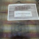 LE TELERIE TOSCANE Impruneta Standard Pillow Sham Italy NIP