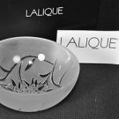 LALIQUE Crystal Edelweiss Hollow Small Bowl Coupelle Creuse NIB