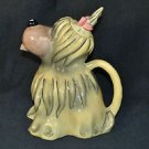 BLUE SKY Briard Dog Tea Pot Teapot Ceramic  New