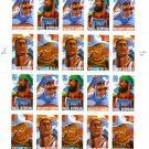 Scott #3086a Folk Heroes sheet of 20 x 32¢