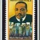 Scott #1771 Martin Luther King single 15¢