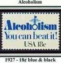 Scott #1927 Alcoholism � You can beat it! single stamp 18¢