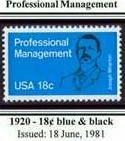 Scott #1920 Professional Management single stamp 18¢