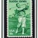 Scott #1933 Bobby Jones – golfer, single stamp 18¢