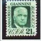 Scott #1400 Amadeo P. Giannini - single stamp 21¢