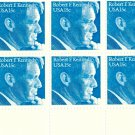 Scott #1770 Robert F. Kennedy 1979 stamp plate block 6 x 15¢
