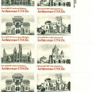 Scott #1838-1841 Architecture - 1980 stamp plate block 16 x15¢