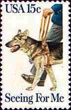 Scott #1787 SEEING EYE DOG ISSUE � Seeing for me 1979 single stamp denomination 15¢