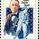 Scott #1756 GEORGE M. COHAN - Performing Arts – 1978 single stamp denomination 15¢
