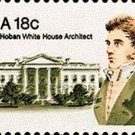 Scott #1935 JAMES HOBAN – White House Architect 1981 single stamp denomination: 18¢