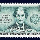 Scott #974 JULIETTE GORDON LOW – Founder of the Girl Scouts 1948 single stamp denomination: 3¢