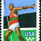 Scott #1790 OLYMPIC GAMES – decathlon - Javelin 1979 single stamp denomination: 10¢