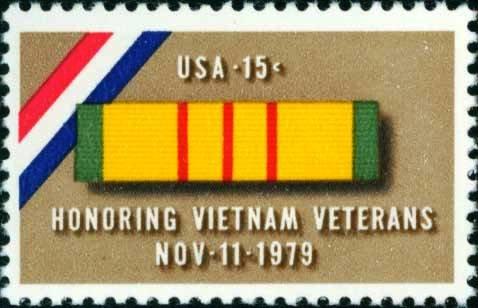 Scott #1802 HONORING VIETNAM VETERANS 1979 single stamp denomination: 15¢