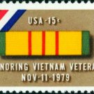 Scott #1802 HONORING VIETNAM VETERANS 1979 single stamp denomination: 15¢