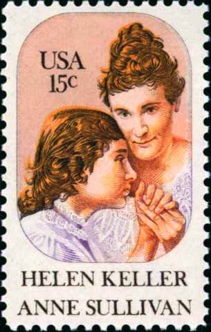 Scott #1824 HELEN KELLER � ANNE SULLIVAN 1980 single stamp denomination: 15¢
