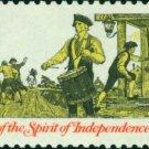 Scott #1479 AMERICAN BICENTENNIAL - Drummer 1973 single stamp denomination: 8¢