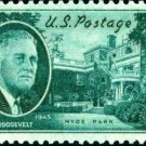 Scott #930 FRANKLIN D. ROOSEVELT – Hyde Park Residence 1945 single stamp denomination: 1¢