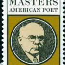 Scott #1405 EDGAR LEE MASTERS 1970 single stamp denomination: 6¢