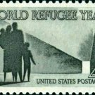 Scott #1149 WORLD REFUGEE YEAR 1960 single stamp denomination: 4¢