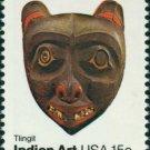 Scott #1836 INDIAN ART – Tingit 1980 single stamp denomination: 15¢
