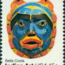 Scott #1837 INDIAN ART – Bella Coola 1980 single stamp denomination: 15¢